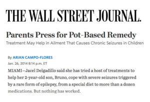 Parents Press for Marijuana Treatment for Rare Form of Epilepsy